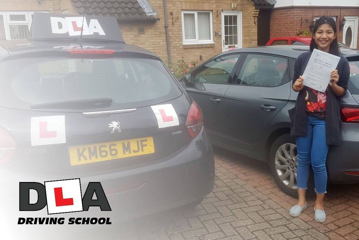 Belle Chalitwan Customer Review Driving Lessons