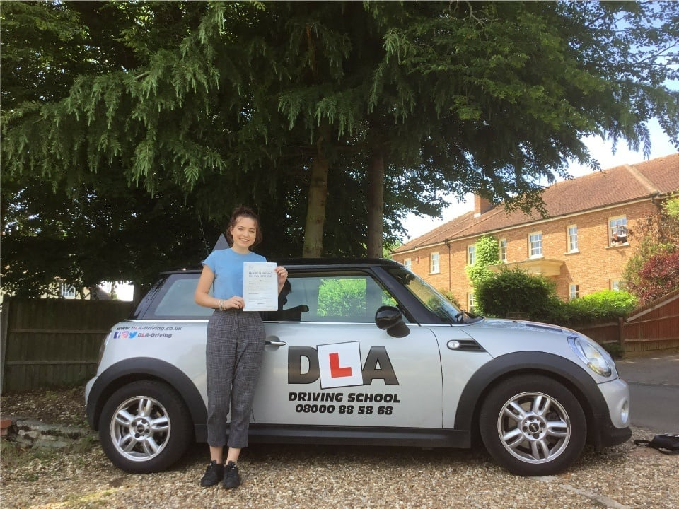 Charlotte Cherry Customer Review Driving Lessons
