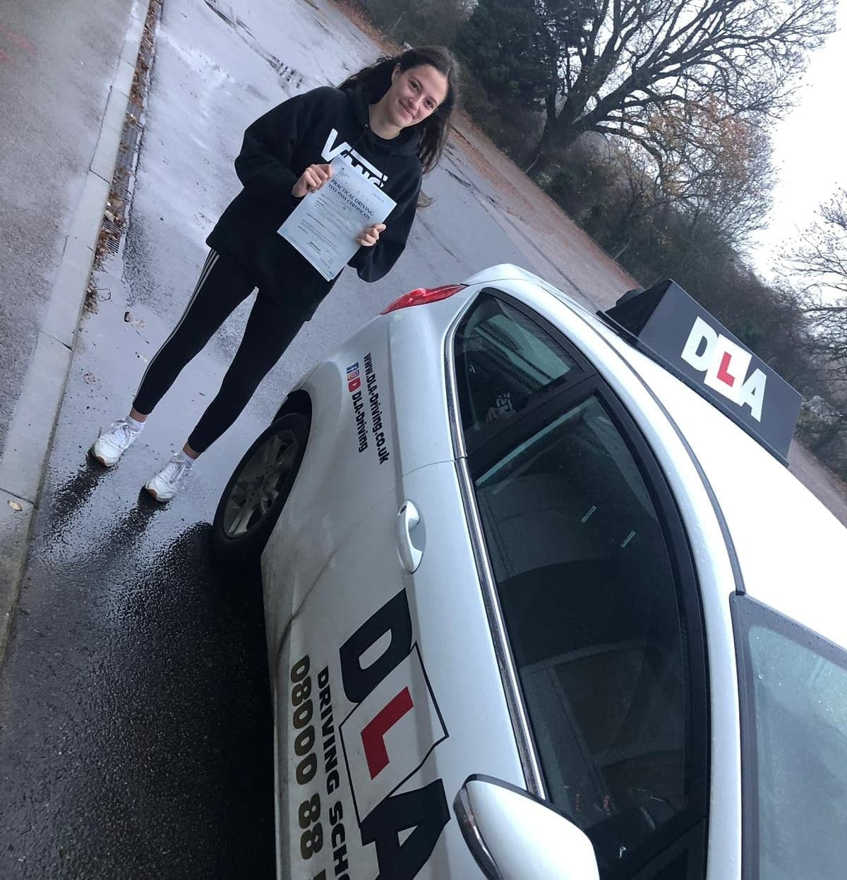 Jasmine Pugh Customer Review Driving Lessons