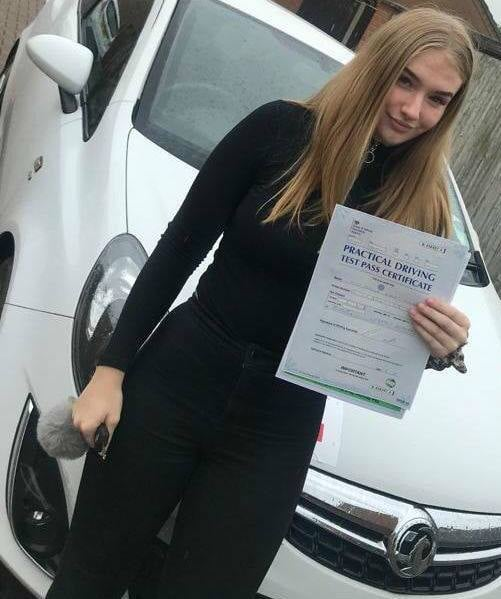 Jess Miles Customer Review Driving Lessons