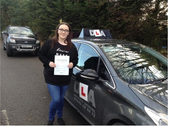 Kiera O'Reilly Customer Review Driving Lessons