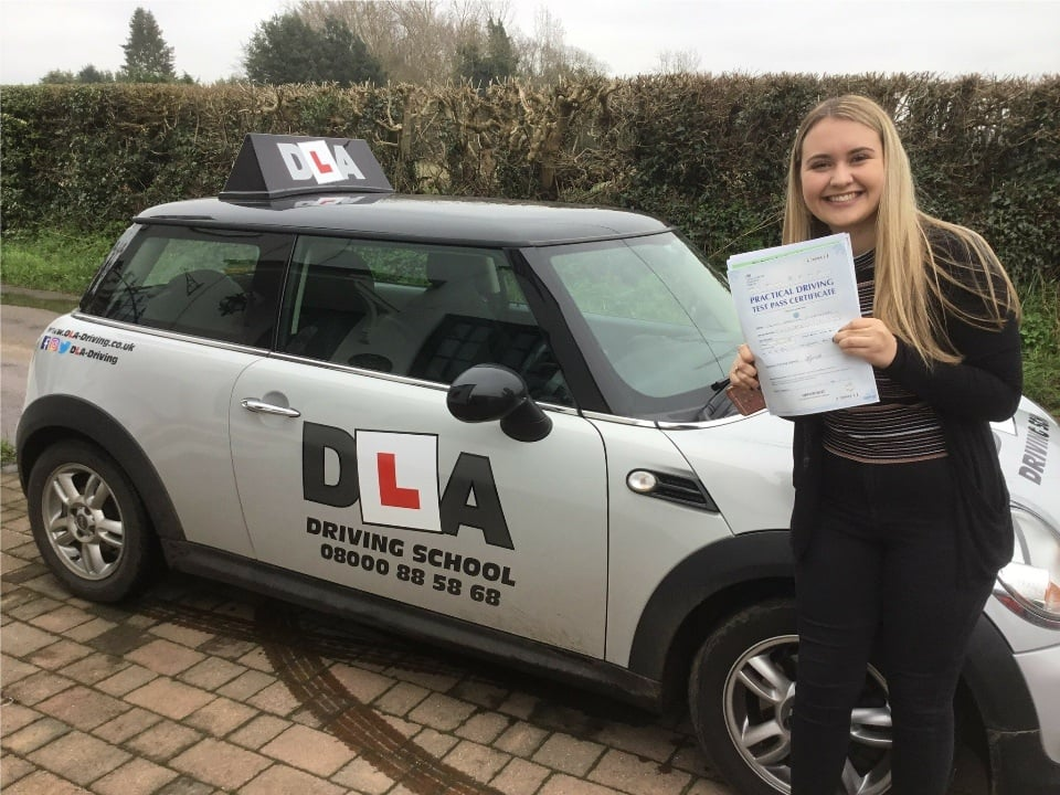 Olivia Crichton Customer Review Driving Lessons